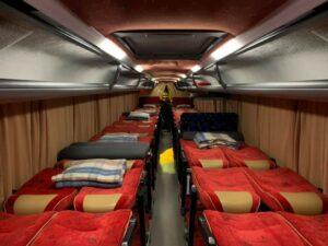 Autocars couchettes 38 à 40 places